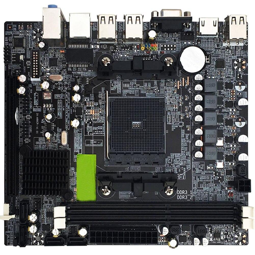 A88 DDR3 ordinateur de bureau SATA2.0 professionnel FM2 Port USB double canal carte mère Stable haute Performance PCI Express 16X