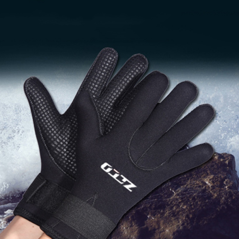 5mm Neoprene Diving Gloves Spearfishing Underwater Canoeing Fishing Gloves Men Women Hunting Canoeing Swimming Gloves 1 Pair