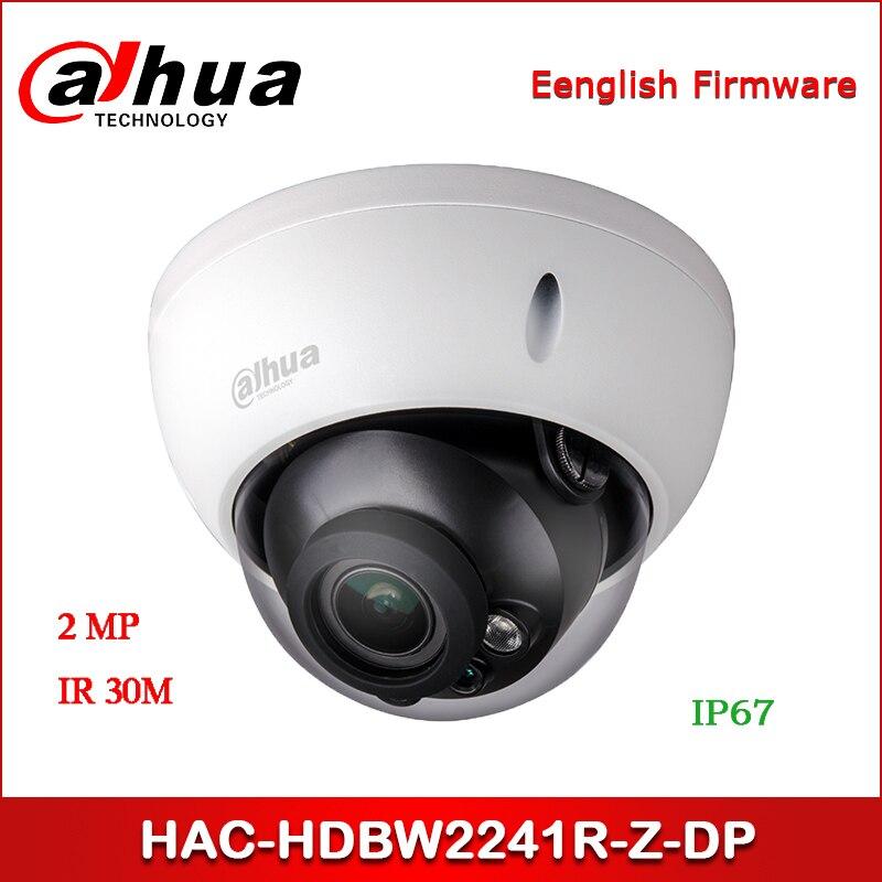 Dahua HAC-HDBW2241R-Z-DP 2MP Starlight HDCVI IR Dome Camera 2.7-13.5mm motorized lens  Audio in interface CCTV Camera