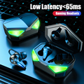 TWS Bluetooth Earphone Gaming Headsets Stereo Sport Waterproof Wireless Headphone Noise Cancelling Earbuds Gamer With Microphone