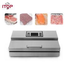 ITOP Semi commercial Vacuum Food Sealer Home Food Storage packing machine With Vacuum Food Storage Bags 110V