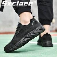 Sxclaee Mode Casual herren Schuhe Atmungsaktivem Mesh Oberen Turnschuhe Nicht-slip Schweiß-absorbent Tragen-beständig männliche Schuhe