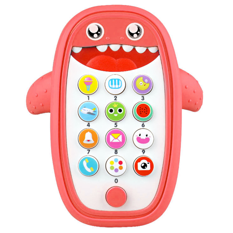 Hot-Baby Rattle Bed Toy English Phone Music Mobile For Kid Cartoon Stroller Education Newborn Infant Child Toddler 0-12 Months