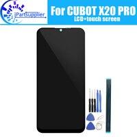 6,3 дюймов CUBOT X20 PRO lcd дисплей + кодирующий преобразователь сенсорного экрана в сборе 100% оригинальный новый lcd + сенсорный дигитайзер для X20 PRO + ...