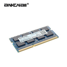 ANKOWALL DDR3 4 Гб 2 Гб ноутбук 1333 1600 1866 МГц sodimm ddr3l ОЗУ для ноутбука 204pin 1,35/1,5 в