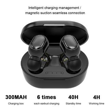 Docooler A7S TWS minisłuchawki Bluetooth 5 1 bezprzewodowe słuchawki z mikrofonem sterowanie dotykowe 9D słuchawki Stereo sportowy zestaw słuchawkowy do telefonów tanie i dobre opinie Dynamiczny wireless 90dB Monitor Słuchawkowe Do Gier Wideo Wspólna Słuchawkowe Dla Telefonu komórkowego Słuchawki HiFi