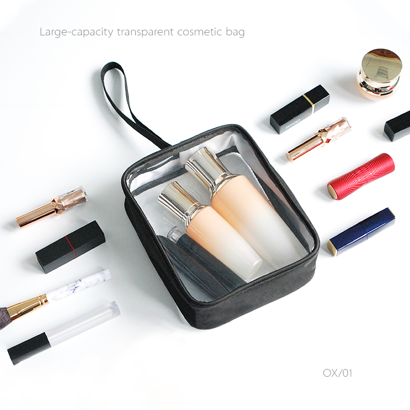 Men's PVC Transparent Cosmetic Bag Travel Toiletry Wash Tote Waterproof Beauty Makeup Case Organizer Pouch Supply Accessories