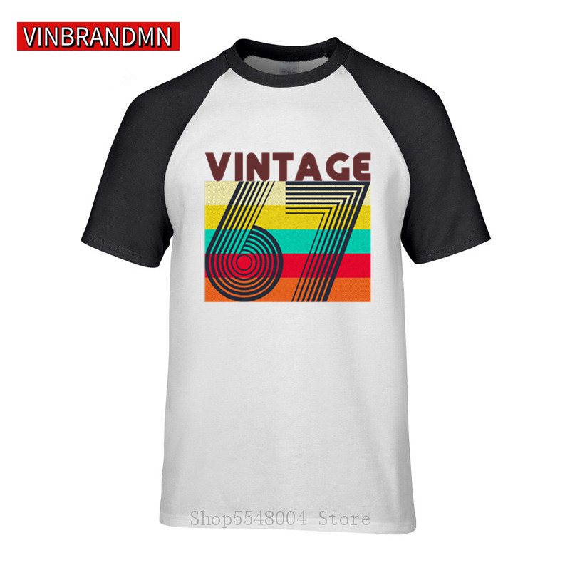 52nd Birthday Present Gift Year 1967 All Original Parts Funny Retro T-Shirt