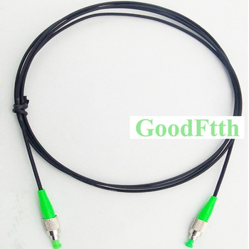 Drop Cable Patch Cord FC-FC APC FC/APC-FC/APC SM G657a 3X2mm 1 core Black GoodFtth 100-500m фото