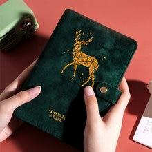 Осенне зимний новый дизайн a6 блокноты на кольцах для дневника