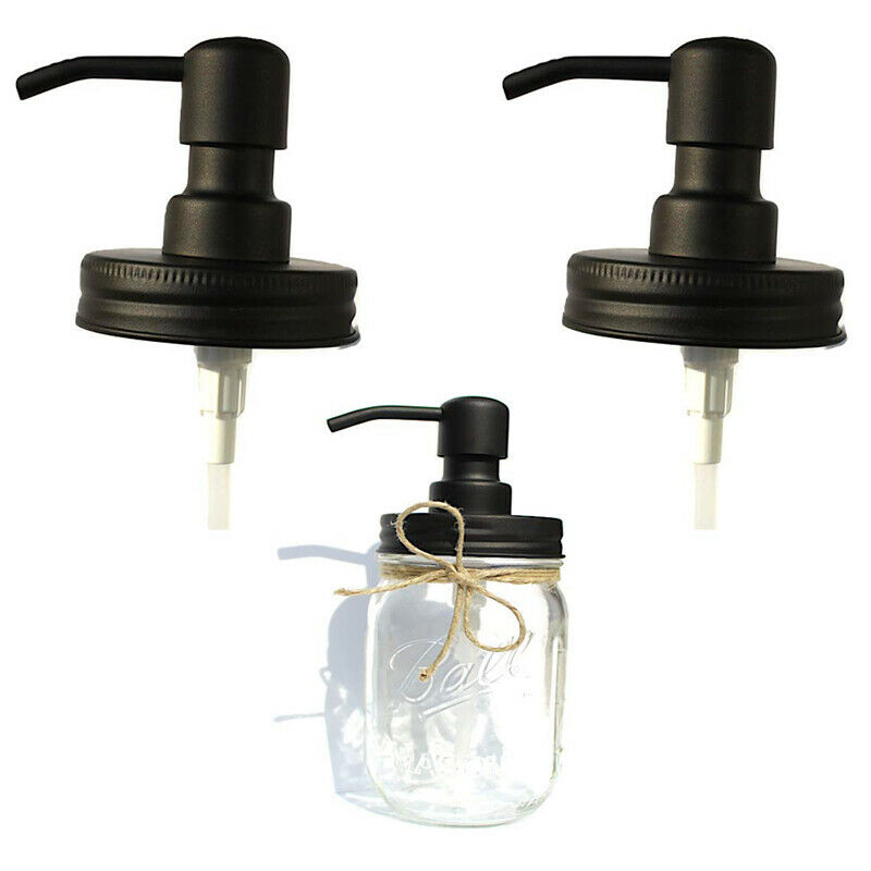 Pump Head Cap Bath Dispenser Anti Rust Lid Canning Jar Placing Hand Soap Lotion Dish Washing Liquid Container Head Sprayer