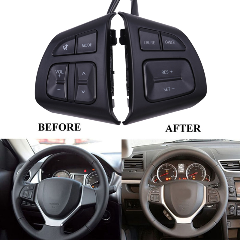 Multifunction Steering Wheel o Control Button Switch Cruise Speed Control for Suzuki Swift SX4 S CROSS|Car Switches & Relays|   - AliExpress