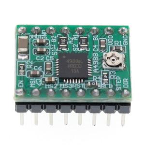Image 5 - 100Pcs A4988 Module Cnc 3D Printer Onderdelen Accessoire Reprap Pololu Stepper Motor Driver Module Met Heatsink Voor Ramps 1.4