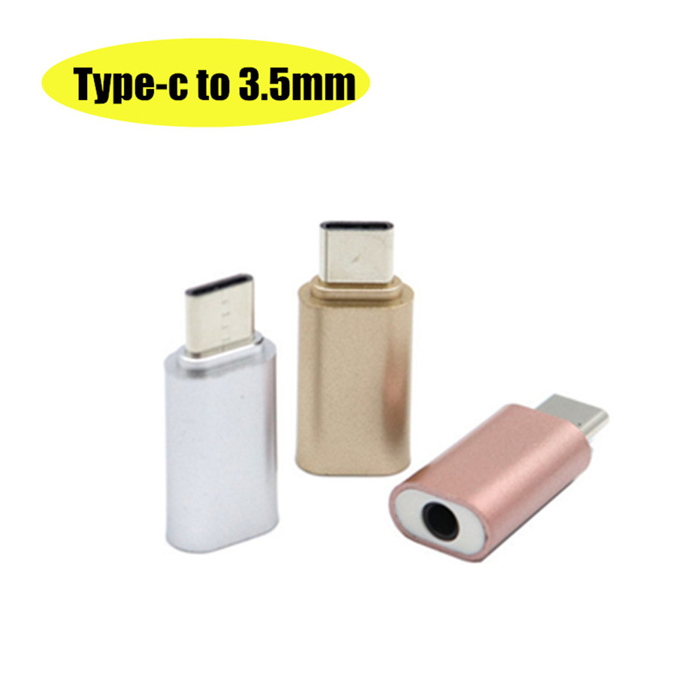 Type-C To 3.5mm Jack Converter Mobile Converter Earphone Audio Adapter Cable Type Headphone Adapter Aux Cable For Huawei Xiaomi