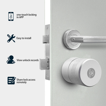 Smart fingerprint lock door Wifi/Bluetooth/key pad/biometric smart lock for office/hotel/apartment deadbolt oklar electronic door lock biometric fingerprint lock zinc alloy smart knob deadbolt keyless indoor lock for home hotel office