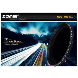 Image 5 - ZOMEI photographie ND filtre réglable densité neutre Fader Ultra mince filtre ND2 400 pour objectif de caméra