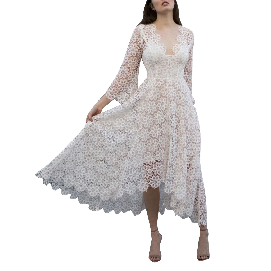 Sequin Women's dress Autumn Winter Casual Long Sleeve V Neck Solid Color Waist Long Maxi Dress Elegant Flower Sundress Sukienka