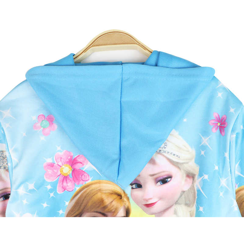 E Plus M Veste imperm/éable La Reine des Neiges Disney Elsa pour fille