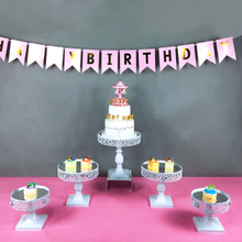 Tobs white cake stands iron metal cupcake display stand wedding decoration for dinnerwarem party baking tool