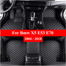Car-Floor-Mats Carpet-Cover Auto-Foot-Pads Custom for Bmw X5 E53 E70 Automobile