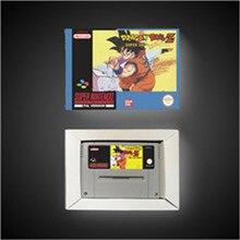 Dragon piłka do gry z super Saiya Densetsu wersja EUR karta do gry RPG oszczędzanie baterii dzięki opakowanie detaliczne