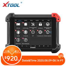 XTOOL PS90 Automotive OBD2 Car Diagnostic tool With Key Programmer/Odometer Corr