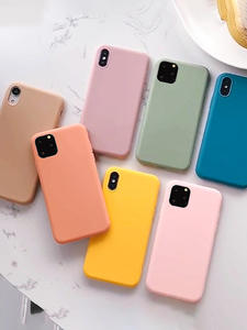 COOLY Candy Color Matte Case For iphone 11 Pro Max 6 S 7 8 Plus X XS XR Back Cover Soft