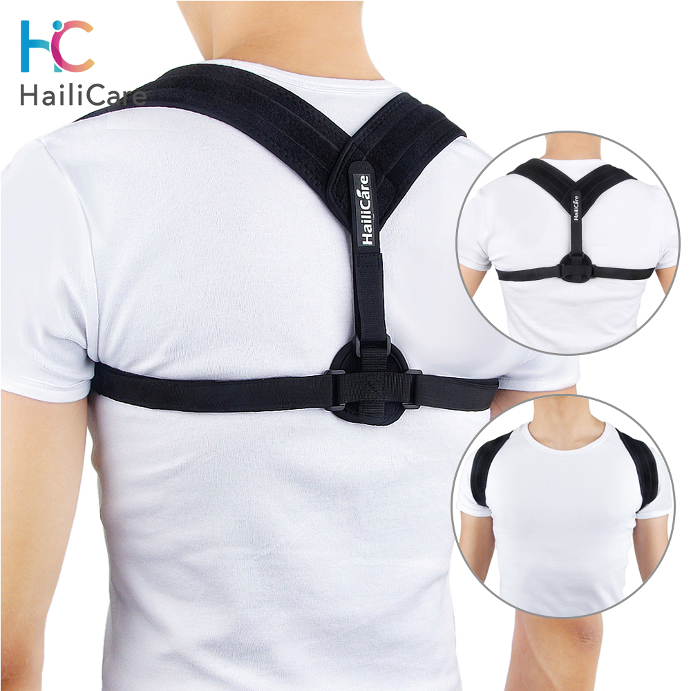 Upper Back Posture Corrector Clavicle Support Belt Back Slouching Corrective Posture Correction Spine Braces Supports Health|clavicle support|brace supportposture corrector - AliExpress