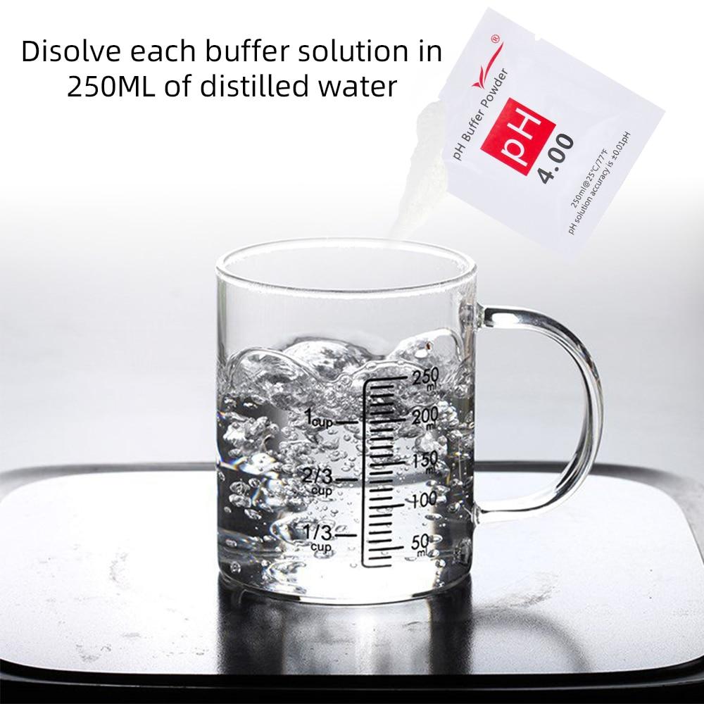 20pcs PH Buffer Powder for PH Test Meter Medida Solución de - Instrumentos de medición - foto 2