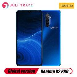 Перейти на Алиэкспресс и купить global version oppo realme x2 pro 6.5дюйм. nfc snapdragon 855 plus 64mp quad camera smartphone cellphone 50w super vooc fast charger