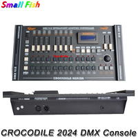 2017 CROCODILE 2024 DMX Console DMX512 Controller DMX Lighting Controller For 20 Pcs Computer Stage Lights Moving Head Light
