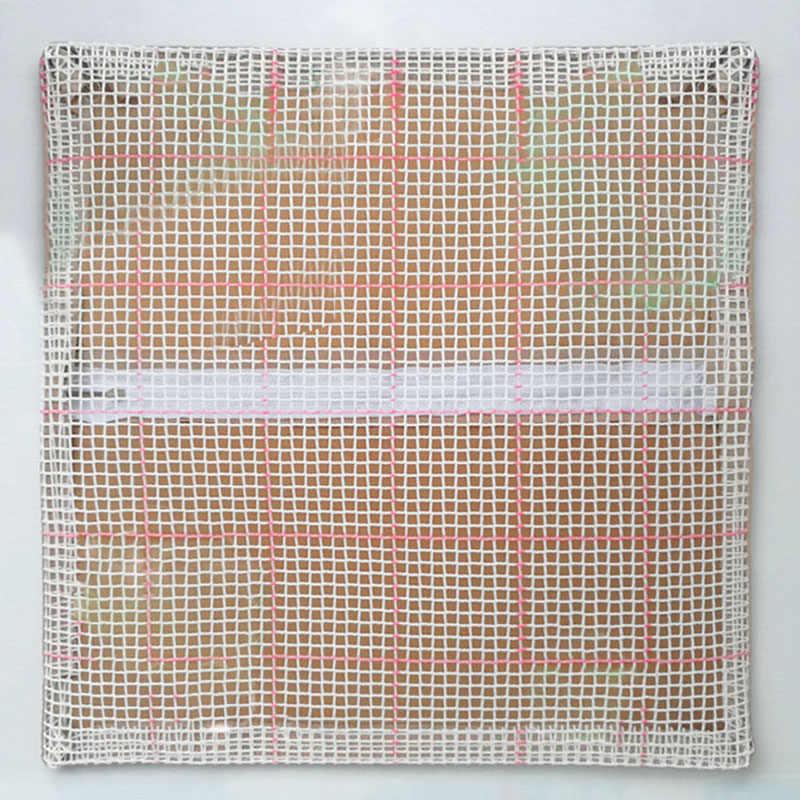 Kartun Hewan Seri DIY Kasar Wol Bordir Bantal Kerajinan Cross Stitch Jahitan Crochet Karpet Yang Belum Selesai Bahan Bantal