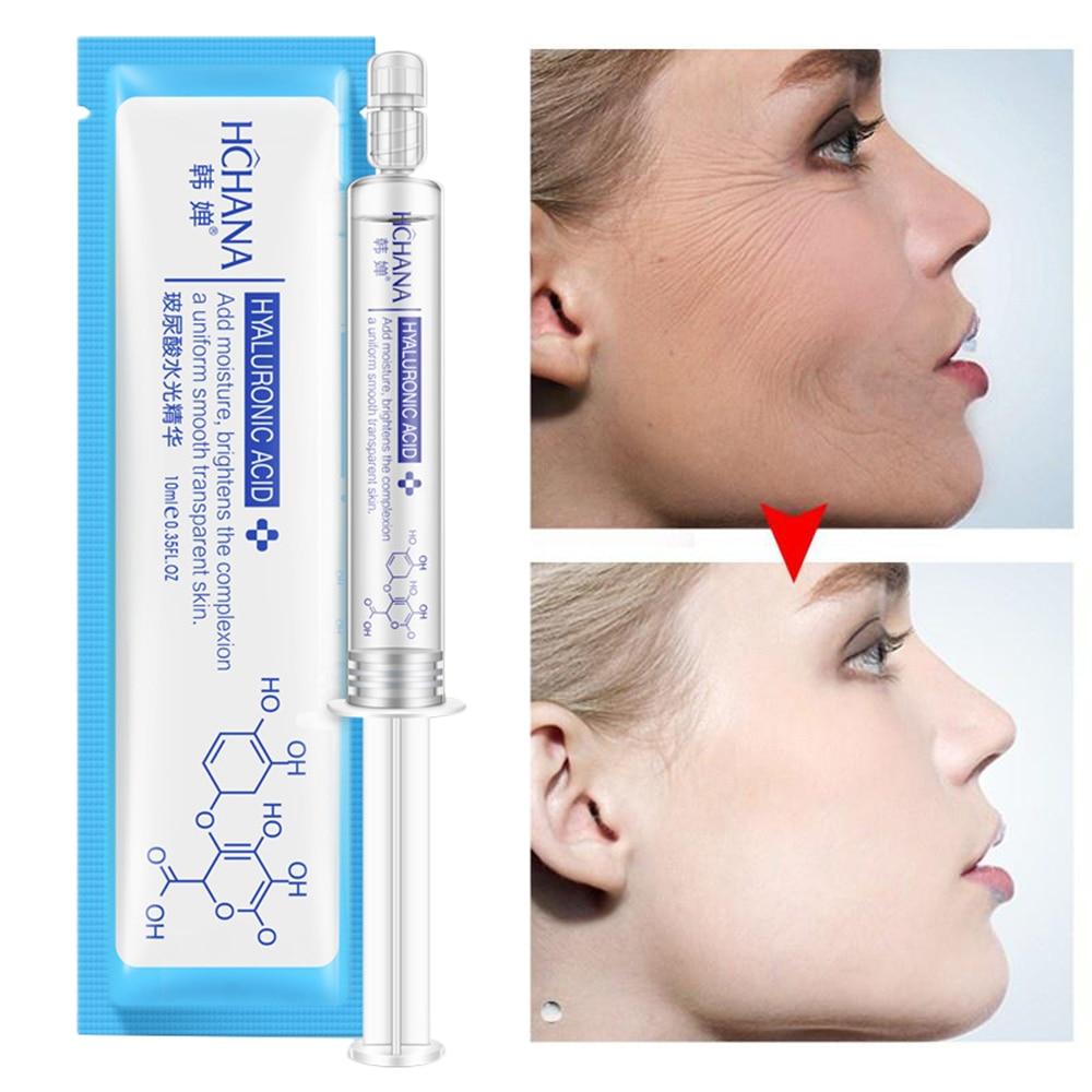10 мл Гиалуроновая кислота Сыворотка для лица глубокое увлажнение против морщин Антивозрастная коллагеновая отбеливающая эссенция удаляет уход за кожей, акне TSLM1|Сыворотка|   | АлиЭкспресс