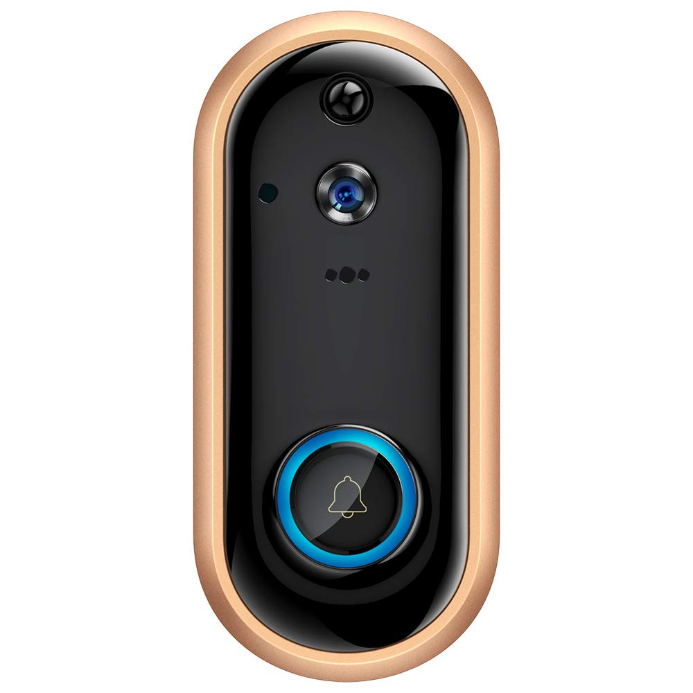 WiFi Video Doorbell 1080P Wireless Door Camera Intercom Rechargeable Battery Camera Security IP Visual Door Phone Camera CCTV