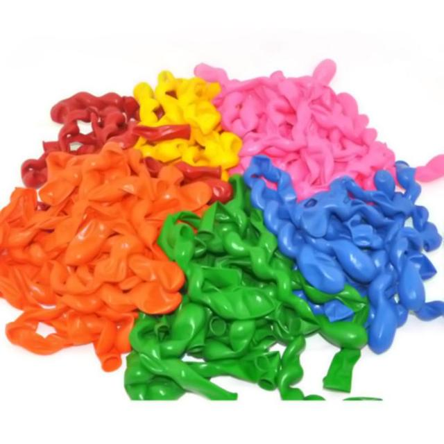 100 Pcs / Bag Giant Balloons Rubber Helium Spiral Latex Balloons Wedding Decoration Long Ballons