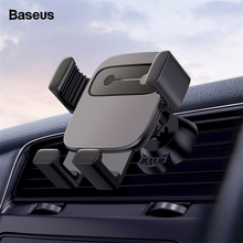 Baseus Gravity Car Phone Holder For iPhone Samsung Mount in Mobile Stand Huawei Xiaomi
