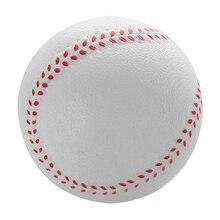1 шт. универсальный ручной Бейсбол s ПВХ верхний жесткий и мягкий бейсбольные мячи мяч для Софтбола тренировочное Упражнение Бейсбол Мячи