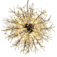 LED Chandelier Nordic Postmodern Bar Chandelier Living Room Crystal Retro Chandelier Lighting Kitchen Light Fixtures