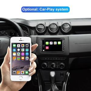 Image 3 - Isudar 1 Din Auto Radio Android 10 For Dacia/Sandero/Duster/Renault/Captur/Lada/Xray 2/Logan 2 Car Multimedia Player GPS DSP DVR