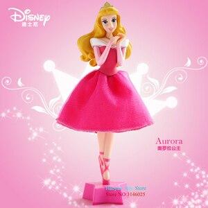 Image 4 - Genuino Disney 18 centimetri Principessa Cenerentola Biancaneve Penna A Sfera Action Figure Decorazione PVC Collection Figurine Giocattoli Per I Regali Per Bambini