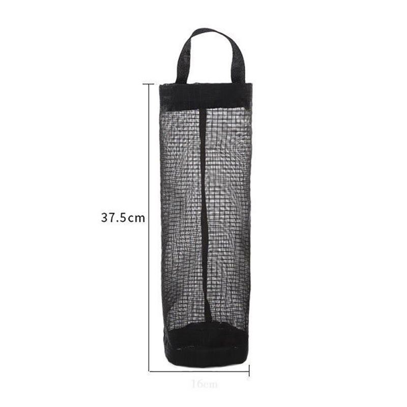 Home Grocery Bag Holder Wall Mount Storage Dispenser Plastic Kitchen Garbage Bag Storage Bag Organizer