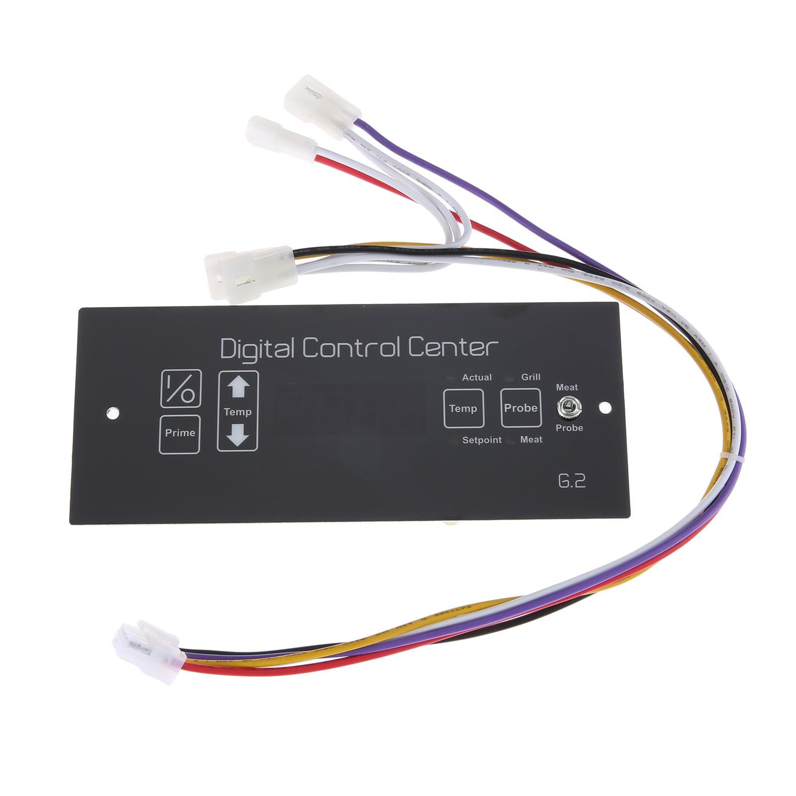 Digital Control Board 50125 Wire Harness fit for Louisiana Wood Pellet Grills LS-LG16006-F/C 120V