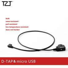 Tzt Zatay D Tap V Batterij Micro Usb Adapter Kabel N Power Kabel Voor Follow Focus