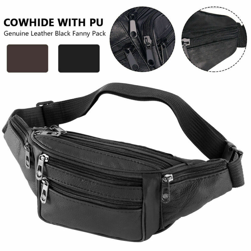 Mens' Waist Belt Bag Utility Cycling Waist Fanny Pack Bum Bag Travel Hip Purse Phone Pocket Sports Bag New