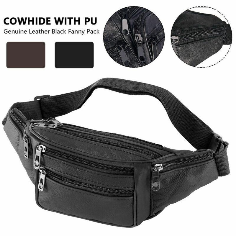 Mens' Waist Belt Bag Utility Cycling Waist Fanny Pack Bum Bag Travel Hip Purse Phone Pocket Sports Bag New