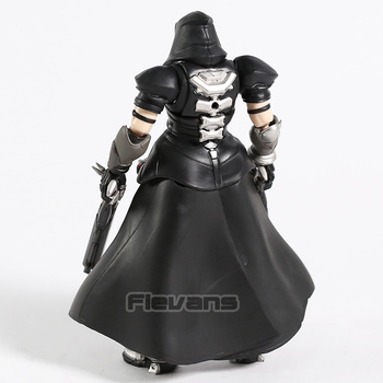 Hot Game OW Reaper Figma 393 PVC Action Figure Collectible Model Toy 4