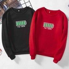 Casual Winter Autumn Hoodie Men Unisex College Students Help Me 100% Cute Slogan Sweatershirt Tumblr Ulzzang Korea Style Top