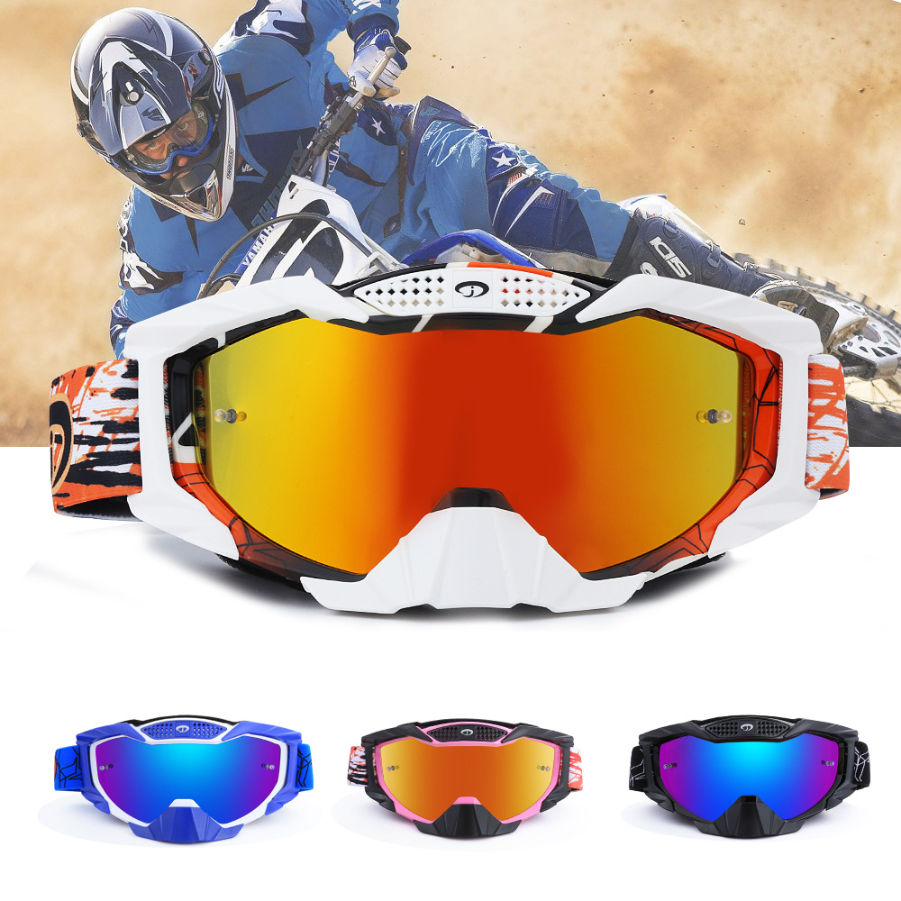 Outdoor Motorbike Cross Country Goggles Mountaineering Glasses Cycle Gear Motorcycle Rider Equipped Strong Impact Resistance