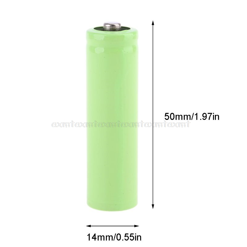 4Pcs No Power AA Dummy Fake Battery Setup Shell Placeholder Cylinder Conductor J18 20 Dropship