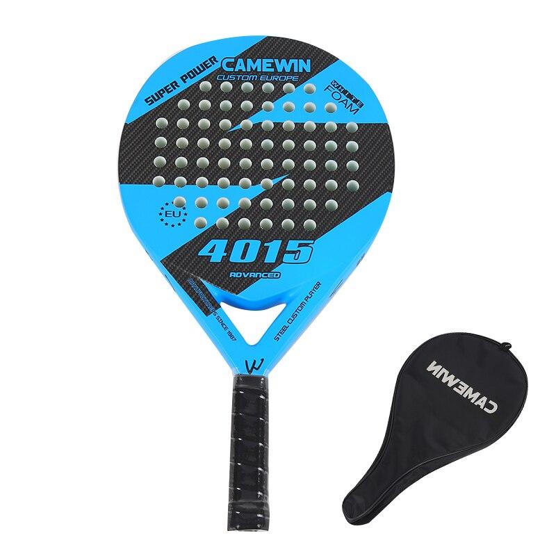 2021 популярная Теннисная ракетка из углеродного и стекловолокна для мужчин и женщин, Пляжная Спортивная Теннисная ракетка, Профессиональна...